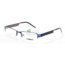 Módní vázané kovové unisex brýle