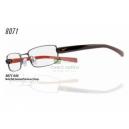 NIKE 8071 celoobrubové kovové unisex brýle s plastovými stranicemi