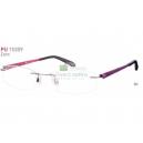 PUMA 15309 Zero vrtané titanové unisex brýle