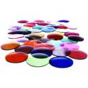 plastová odlehčená zabarvená základní čočka (2ks)